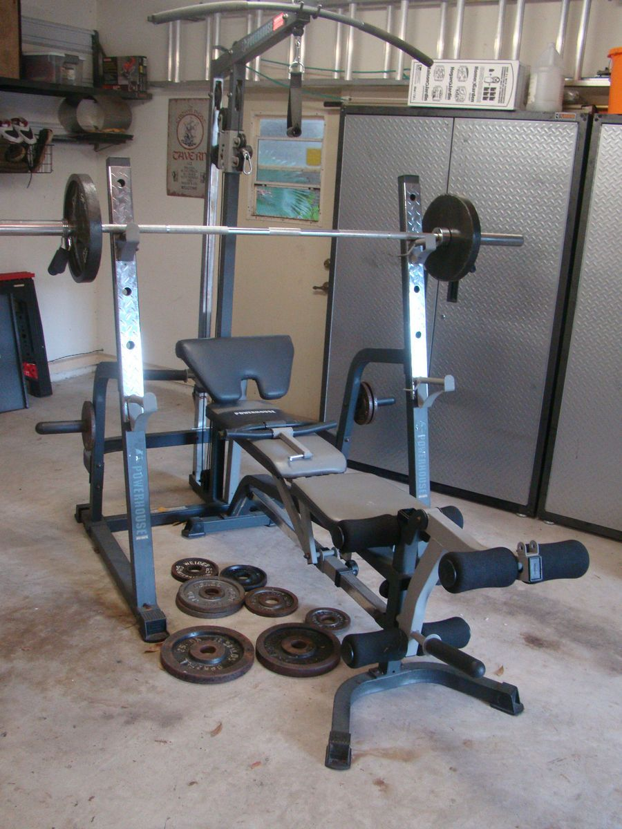Powerhouse Strength Series Weight Bench | Powerhouse Weight Bench | Used Workout Bench