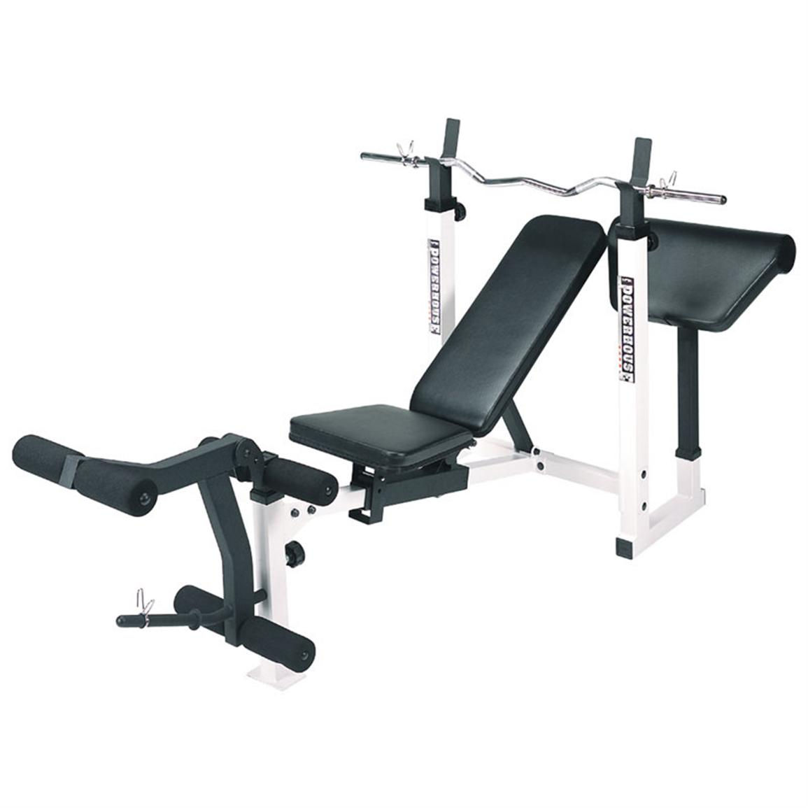 Powerhouse Weight Bench | Good Cheap Weight Bench | Powerhouse Fitness Weight Bench