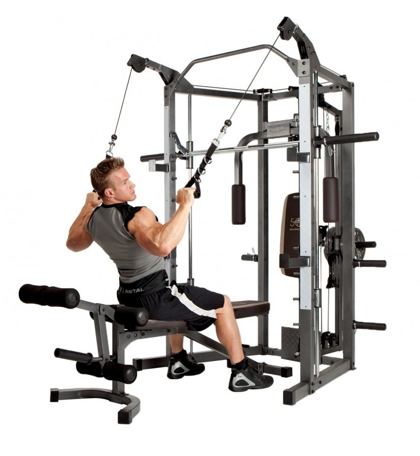 Powerhouse Weight Bench | Weight Lifting Bench Press | Bench Weight Set