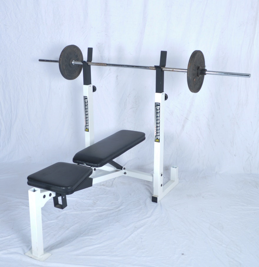 Powerhouse Weight Bench | Workout Benches with Weights | Workout Bench