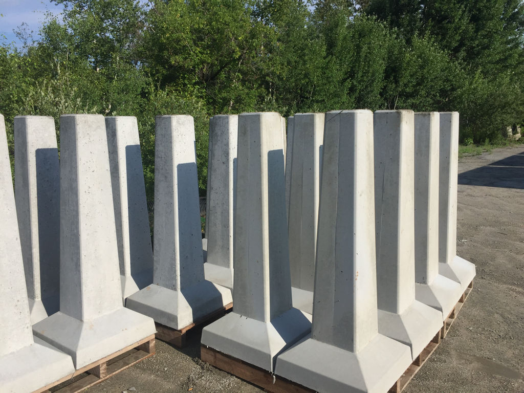 Precast Concrete Pier Blocks | 4x4 Concrete Deck Blocks | Precast Concrete Piers