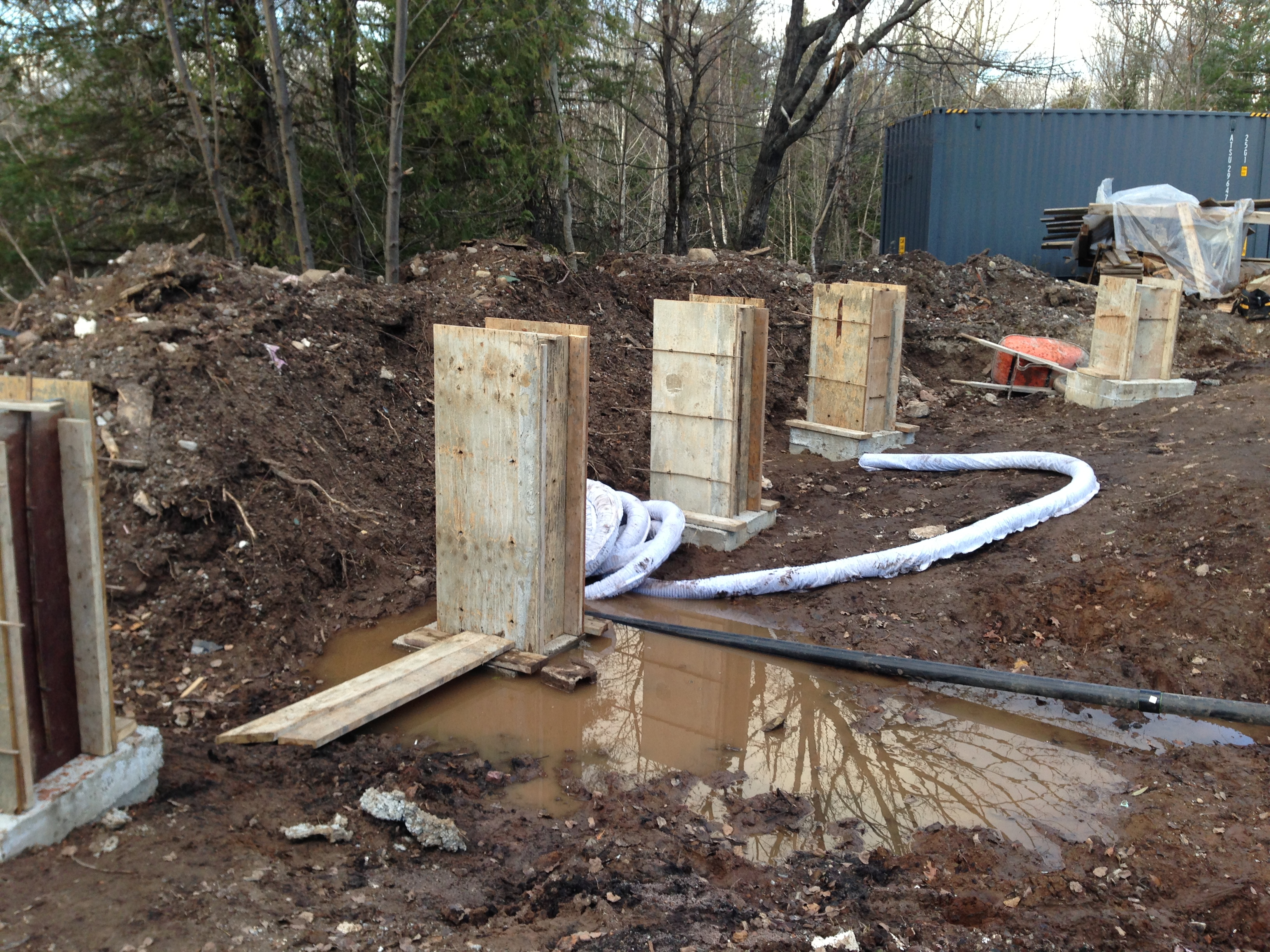 Precast Concrete Piers | Concrete Deck Supports Precast | Precast Deck Footings