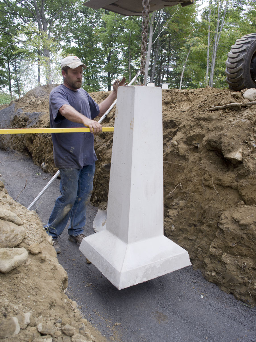 Precast Concrete Piers | Concrete Pier Blocks Home Depot | Precast Concrete Piers Footings