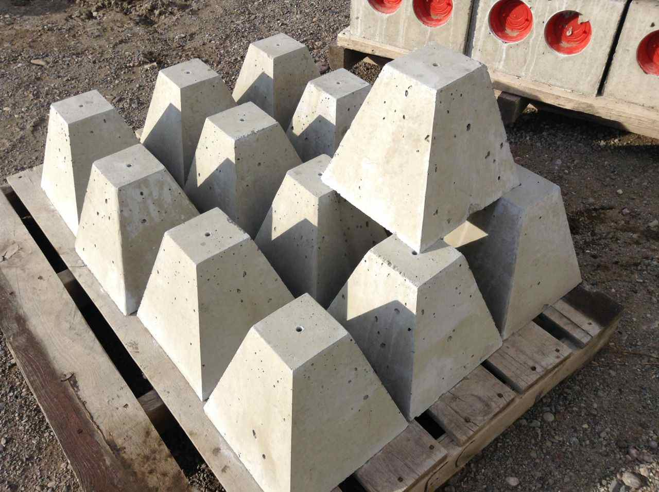 Precast Concrete Piers | Concrete Piers for Decks | Precast Concrete Footings for Posts