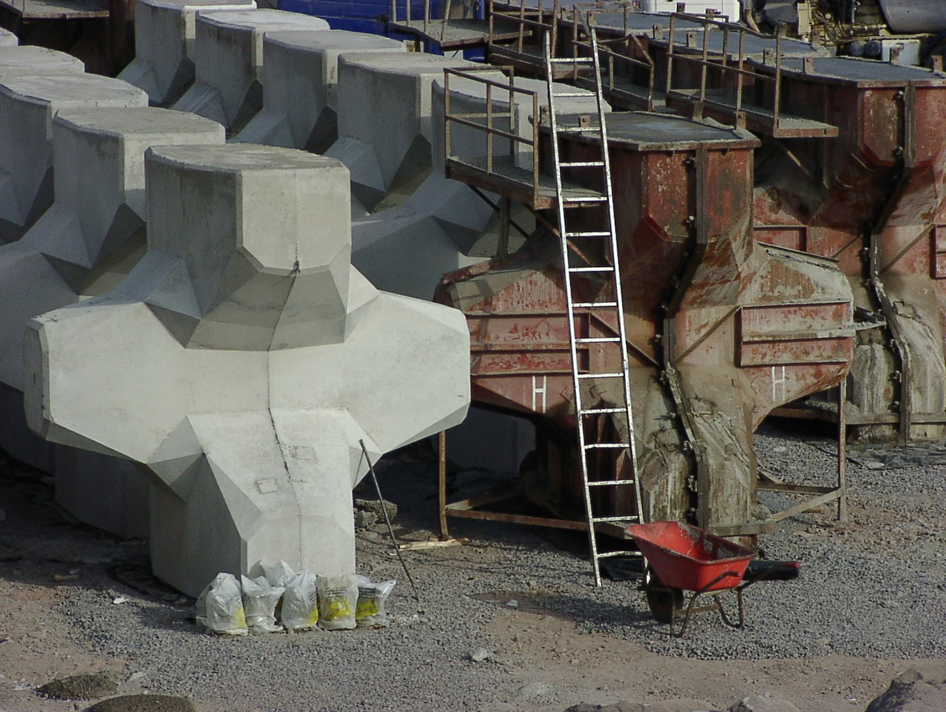 Precast Concrete Piers | Precast Concrete Deck Footings | Prefab Concrete Steps