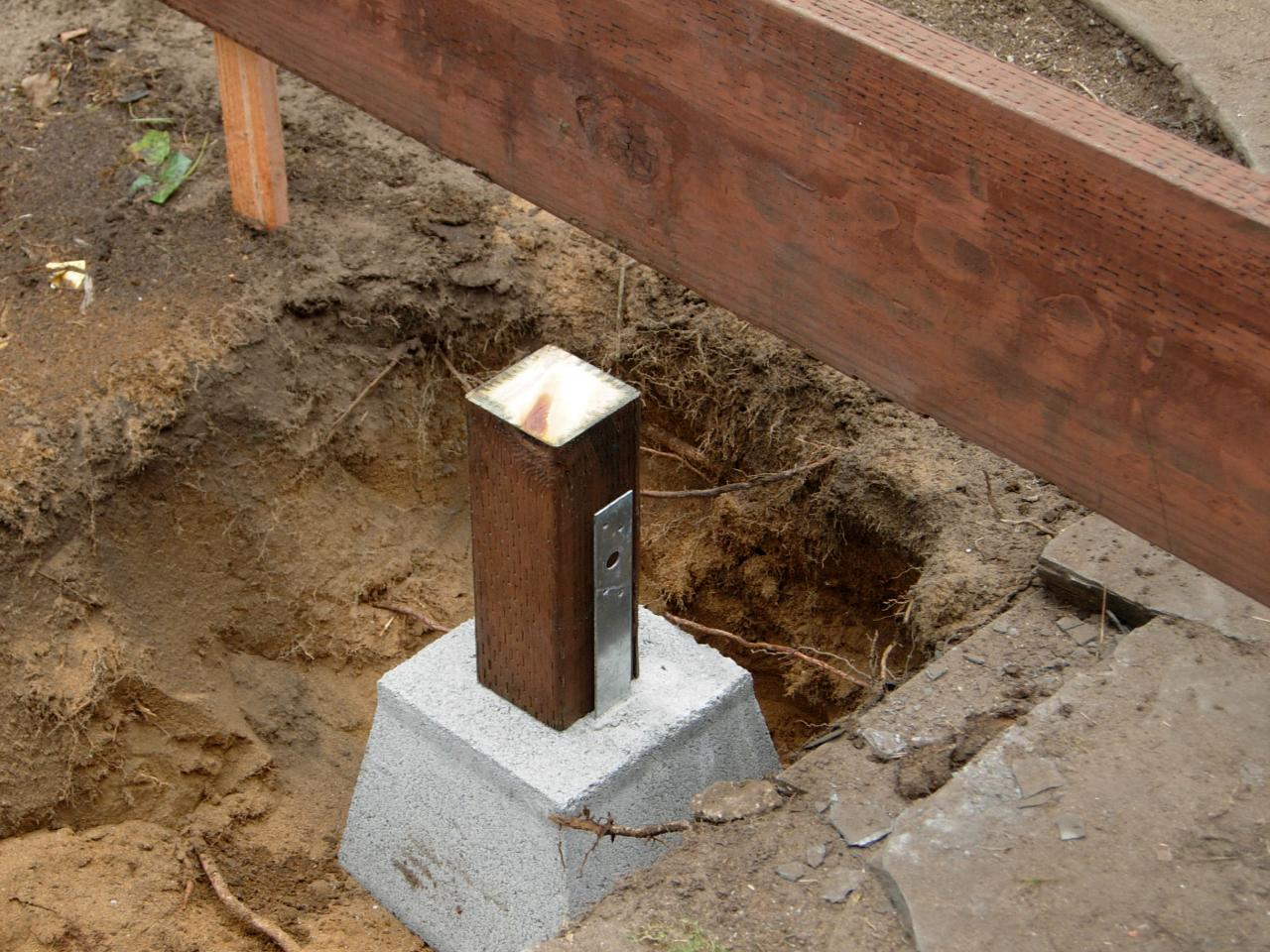Precast Concrete Piers | Precast Concrete Footings for Decks | Deck Footing Block