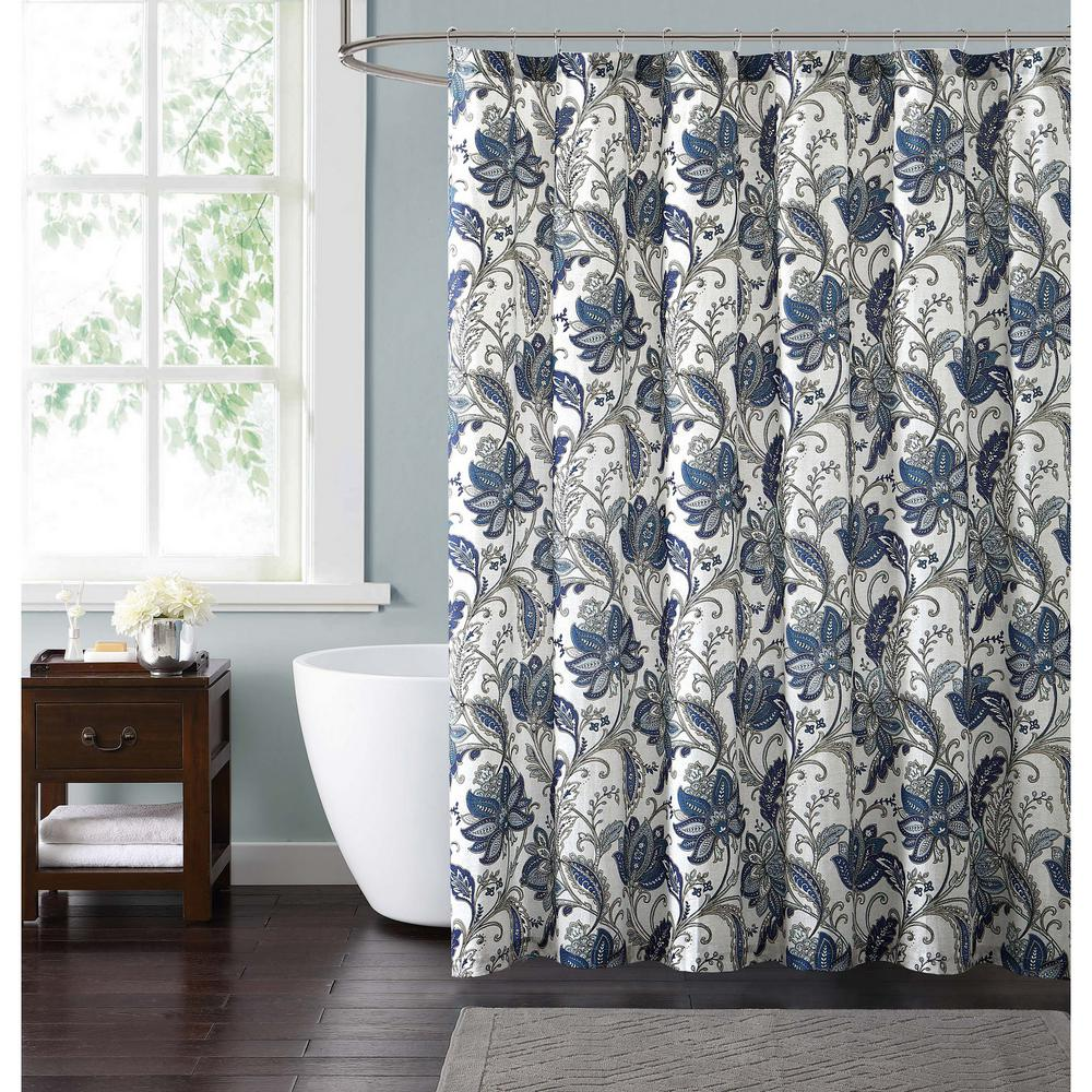 Pretty Shower Curtains Bathroom | Floral Shower Curtain | Boho Shower Curtain