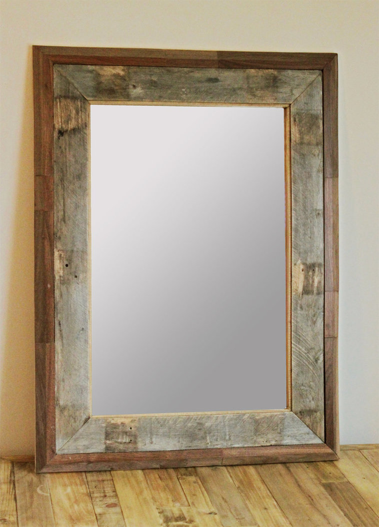 Primitive Bathroom Mirrors | Wall Mirror Target | Reclaimed Wood Mirror