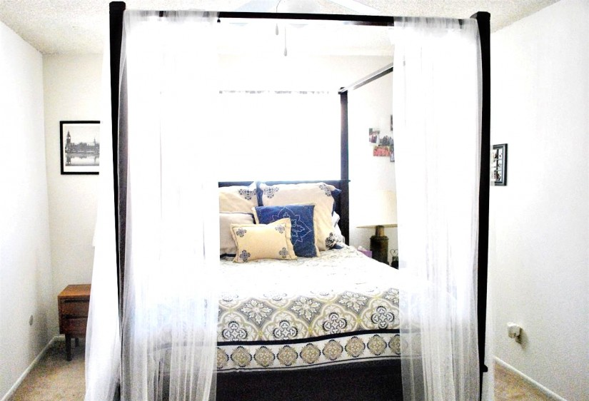 Purple Canopy Bed Curtains | Canopy Curtains For Bed | Canopy Bed Curtains