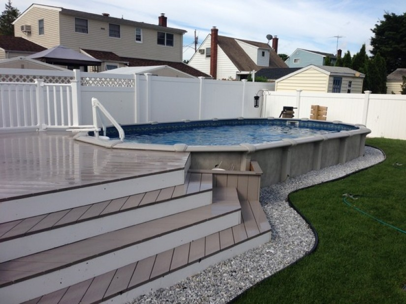 Radiant Pool Kits | Inground Above Ground Pool | Semi Inground Pool Ideas
