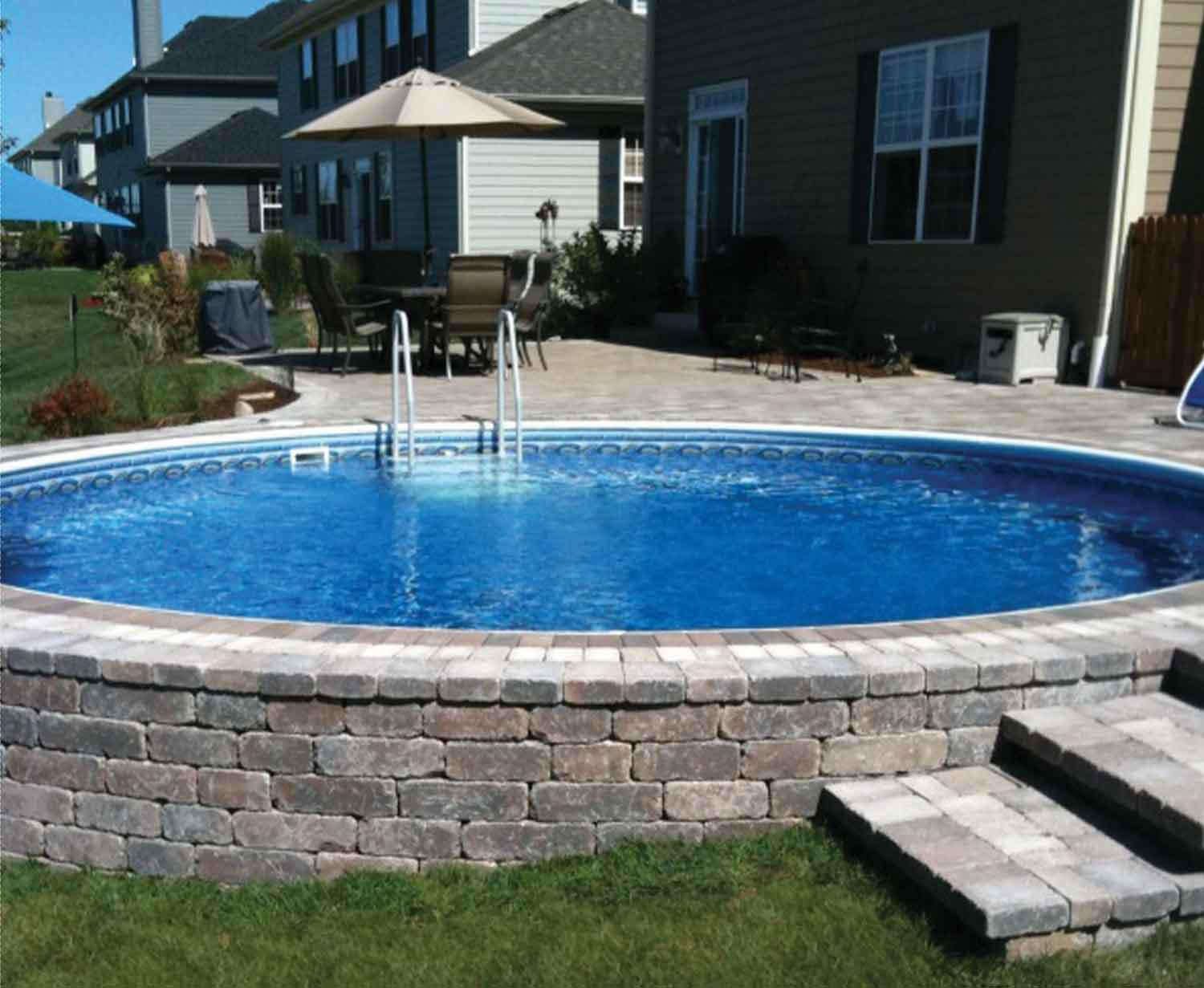 Radiant Pools Price List | Semi Inground Pool Ideas | Semi Inground Pool Installation Cost