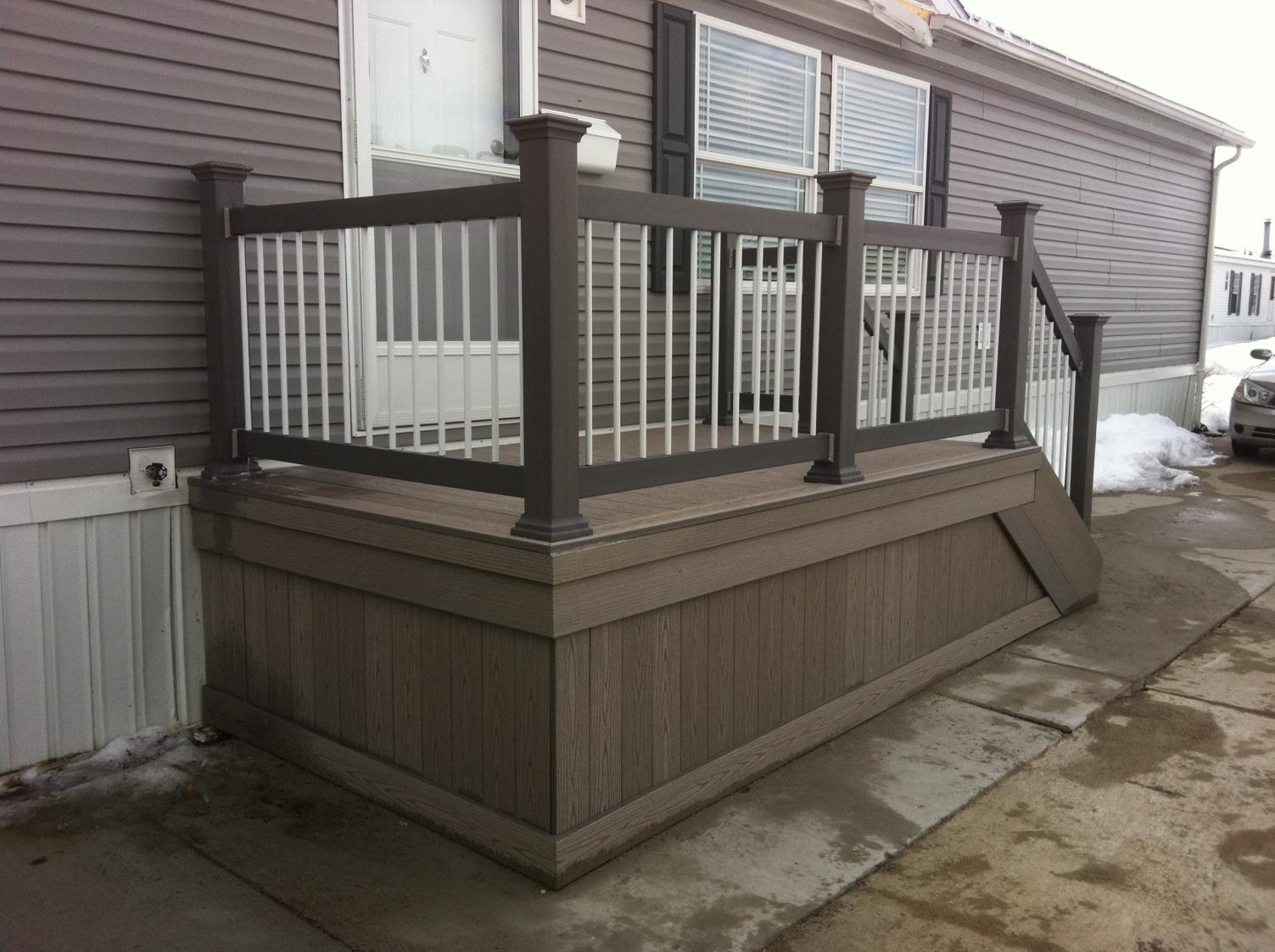 Railing Systems Home Depot | Veranda Composite Decking | Home Depot Veranda Decking