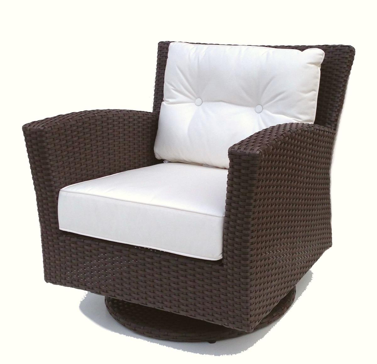 Rattan Rockers | Outdoor Swivel Glider Chairs | Rattan Swivel Rocker