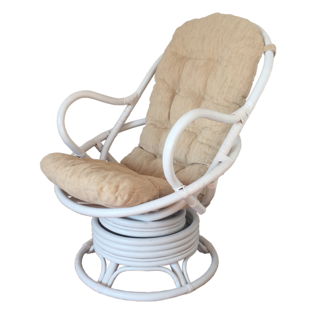 Rattan Rocking Chair | Wicker Swivel Rocker | Rattan Swivel Rocker