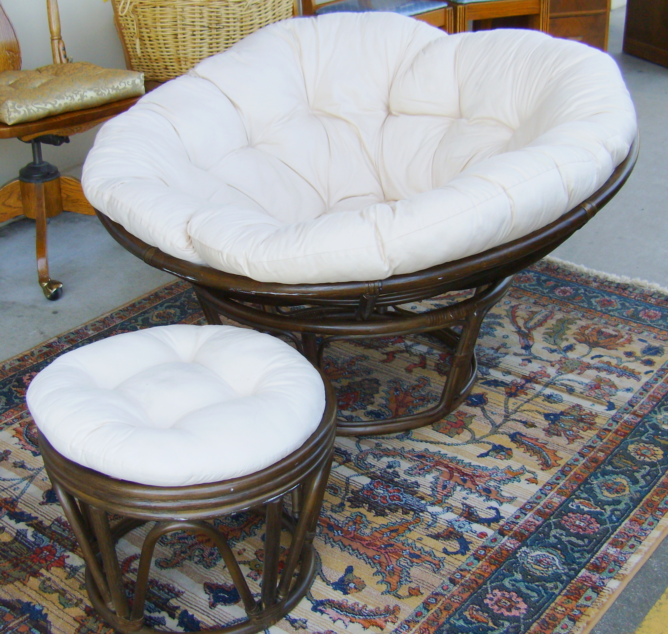 Rattan Rocking Chairs | Rattan Swivel Rocker | Rattan Swivel Chair