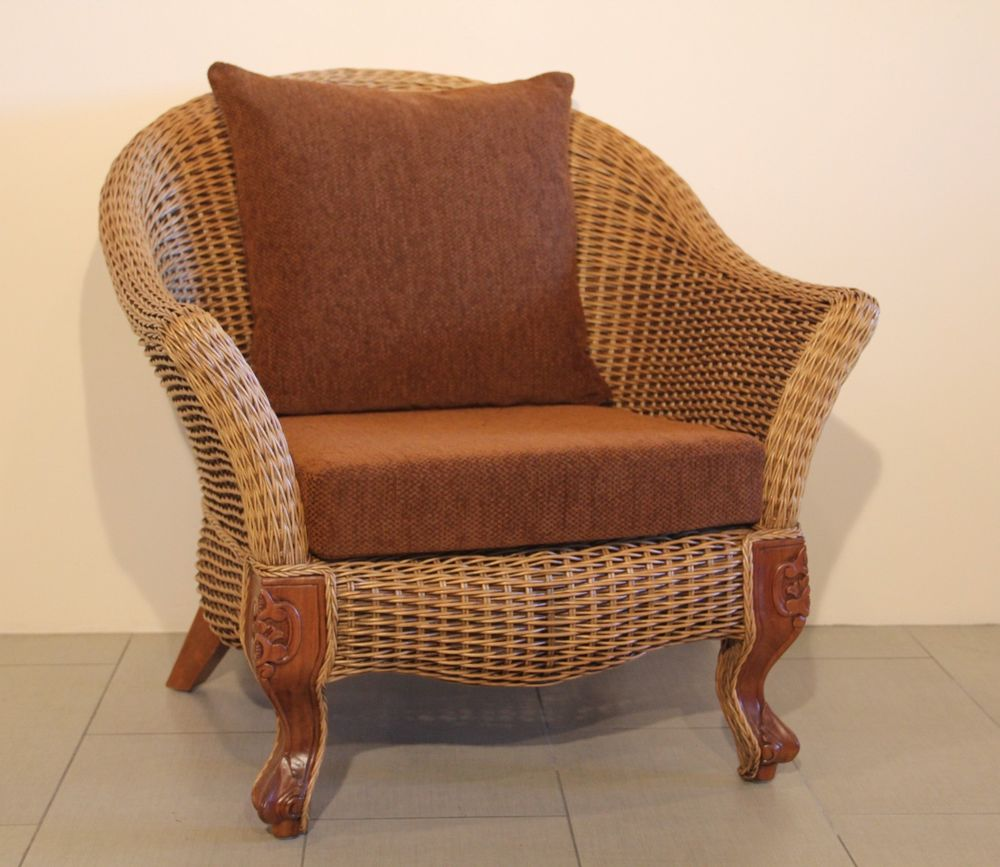 Rattan Swivel Chair Cushion | Rattan Swivel Rocker | Rattan Recliner Chairs