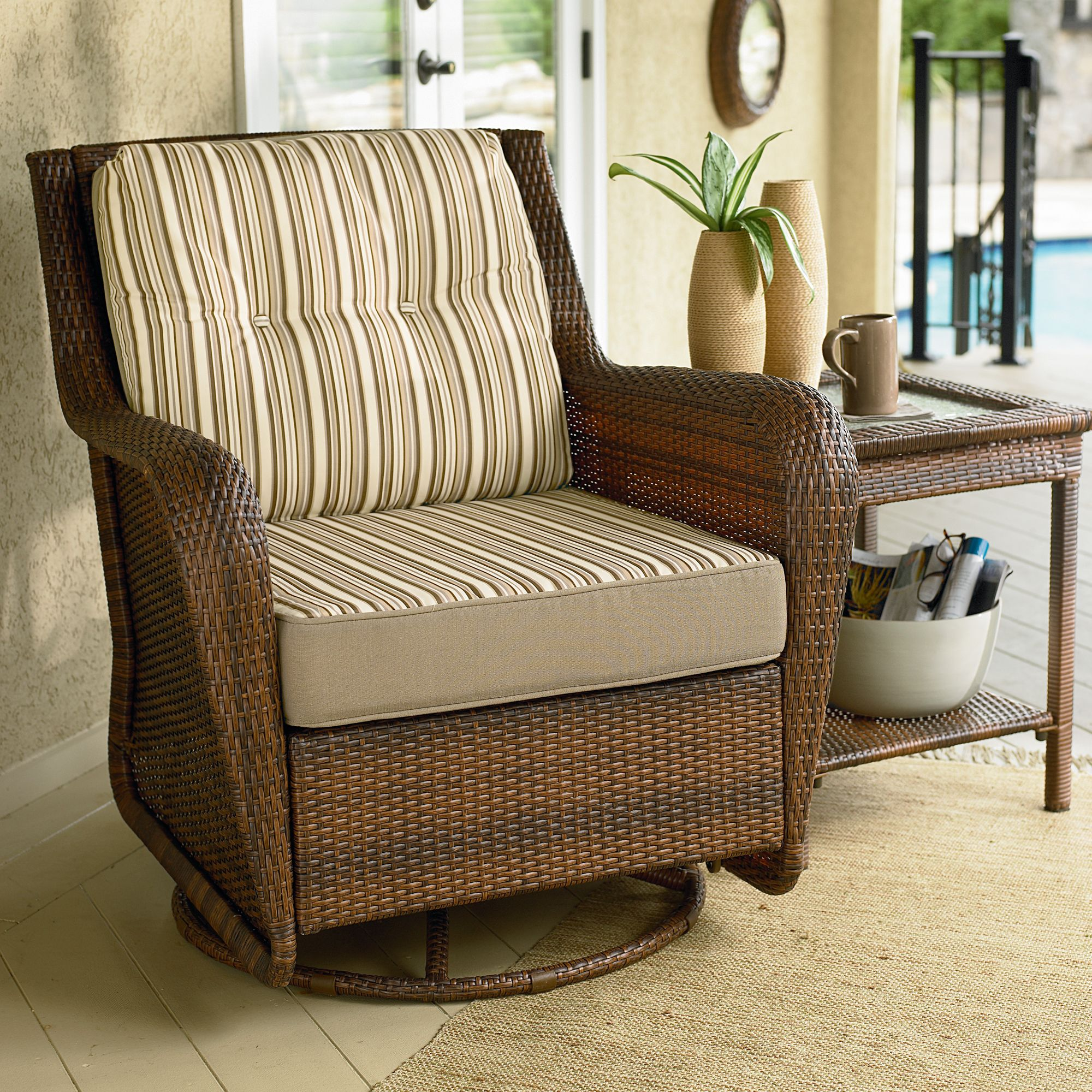 for rattan outdoors area outdoor c homelife chair decorating your best chairs