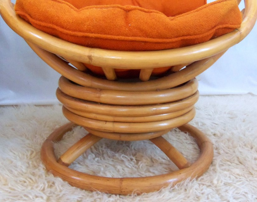 Furniture Wonderful Rattan Swivel Rocker For Classy Style
