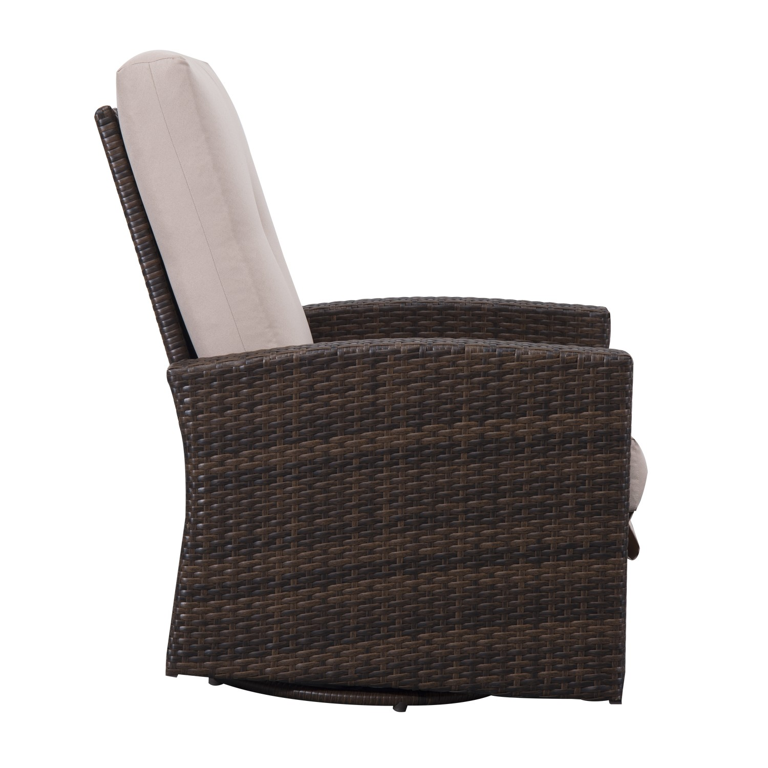 Rattan Swivel Rocker | Resin Wicker Swivel Chair | Swivel Papasan Chair