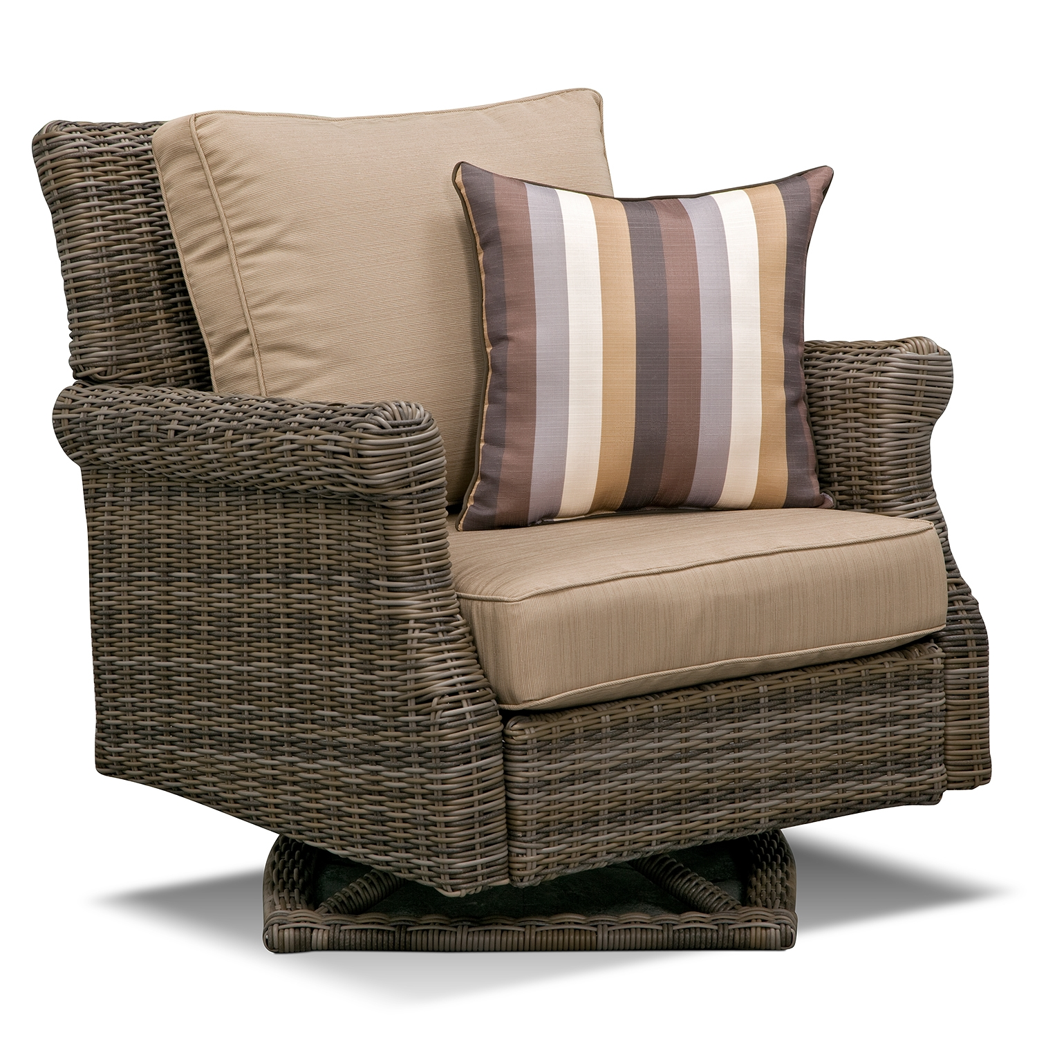 Rattan Swivel Rocker | Swivel Chair Cushions | Rattan Recliner Chairs