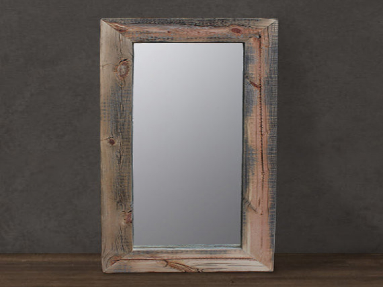 Reclaimed Wood Framed Mirror | Reclaimed Wood Mirror | Oversized Wall Mirrors