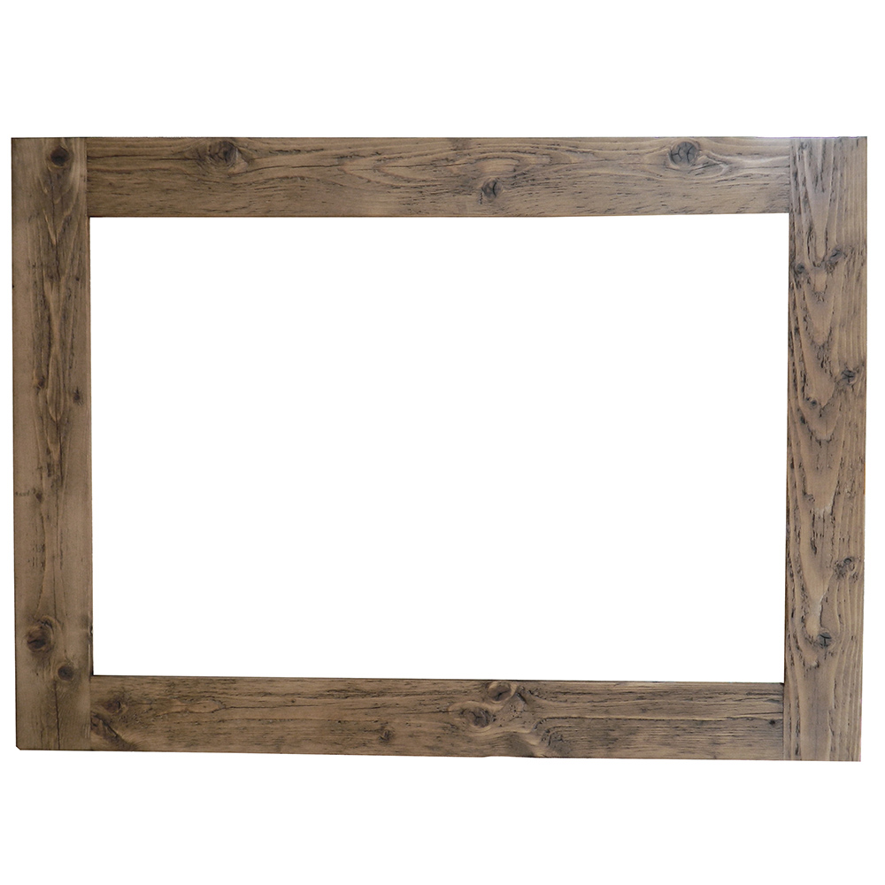 Reclaimed Wood Mirror | 3x5 Mirror | Wrought Iron Wall Mirrors