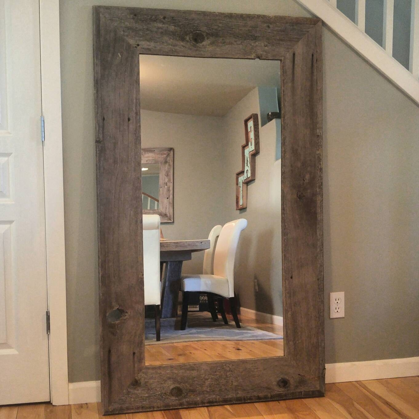 Reclaimed Wood Mirror | Kirkland Mirrors | Rustic Oak Framed Mirrors