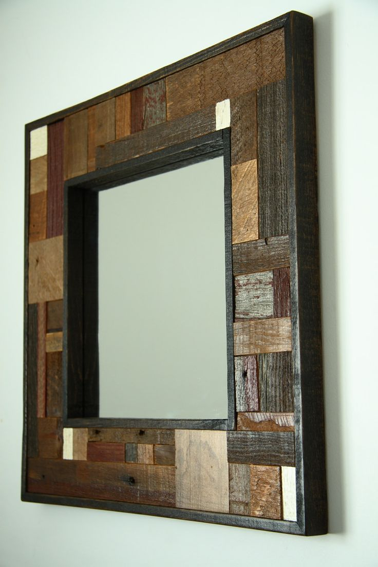 Reclaimed Wood Mirror | Large Quatrefoil Mirror | Oversized Wall Mirrors