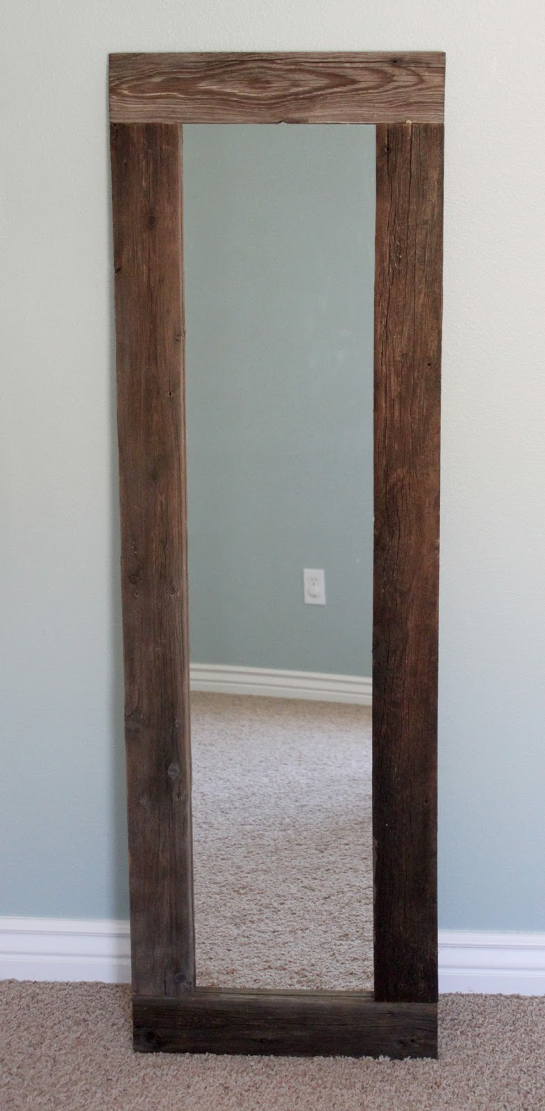 Reclaimed Wood Mirror | Reclaimed Wood Framed Mirror | Beech Wood Framed Mirrors