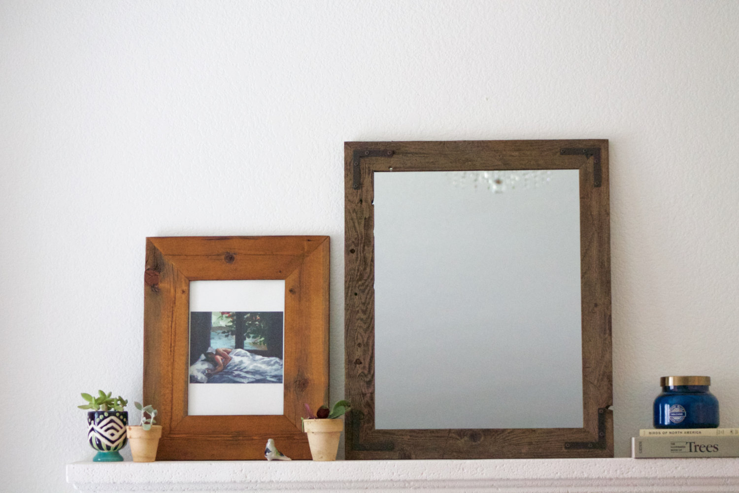 Reclaimed Wood Mirror | Sun Mirror Wall Decor | Wall Mirror Target