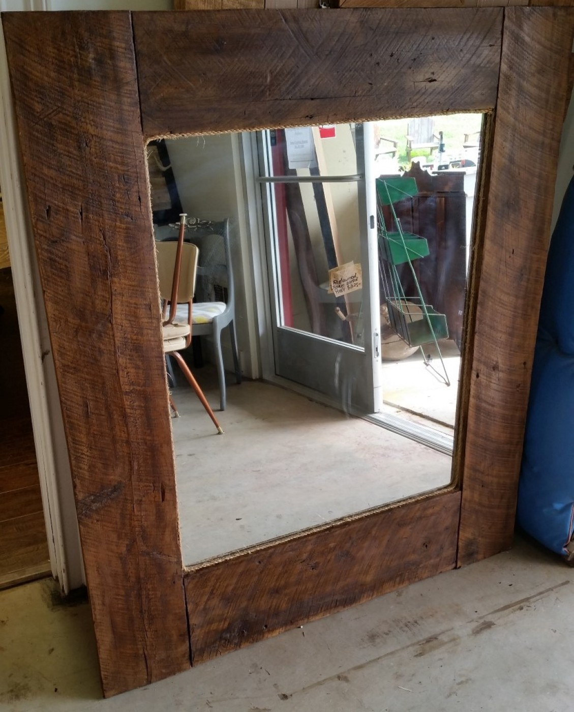 Reclaimed Wood Mirror | Timber Framed Mirror | Ornate Wall Mirrors