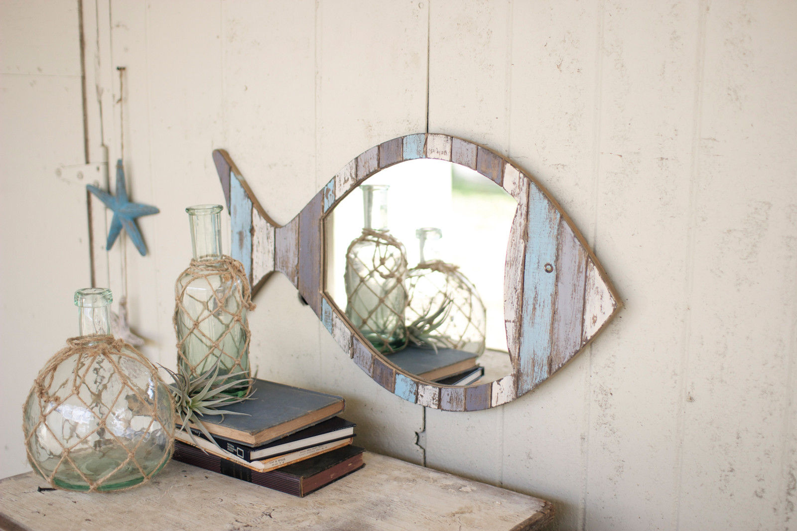 Reclaimed Wood Mirror | Wooden Vanity Mirror | Kirklands Bathroom Mirrors