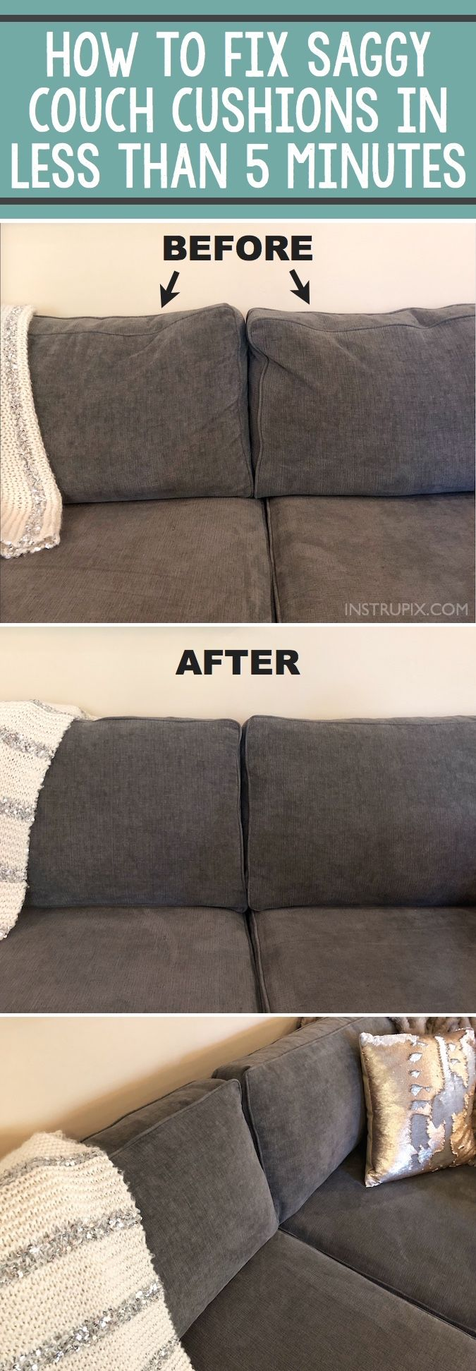 Refurbishing Sofa Cushions | Restuffing Couch Cushions | Sofa Cushion Filling Replacement