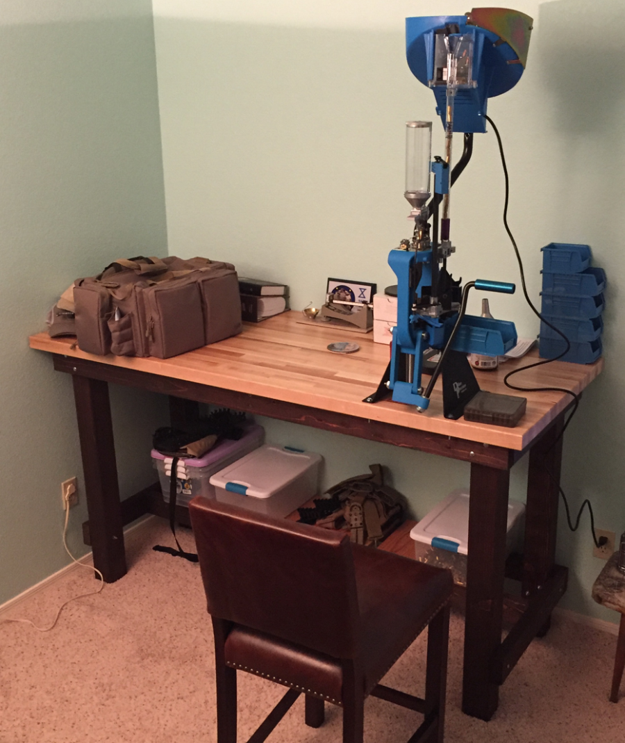 Reloading Benches | Homemade Reloading Bench | Plans for Building A Reloading Bench
