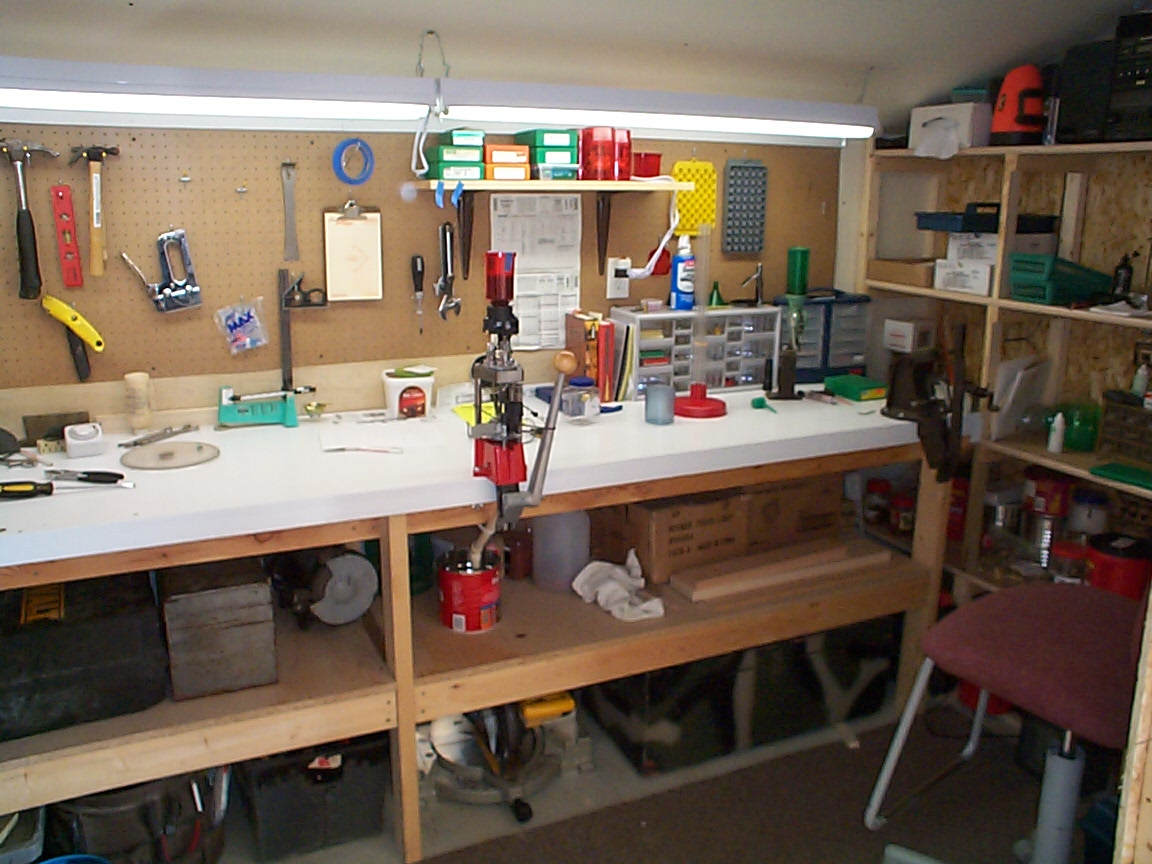 Reloading Benches | Reloading Table Setup | Reloading Bench Kit