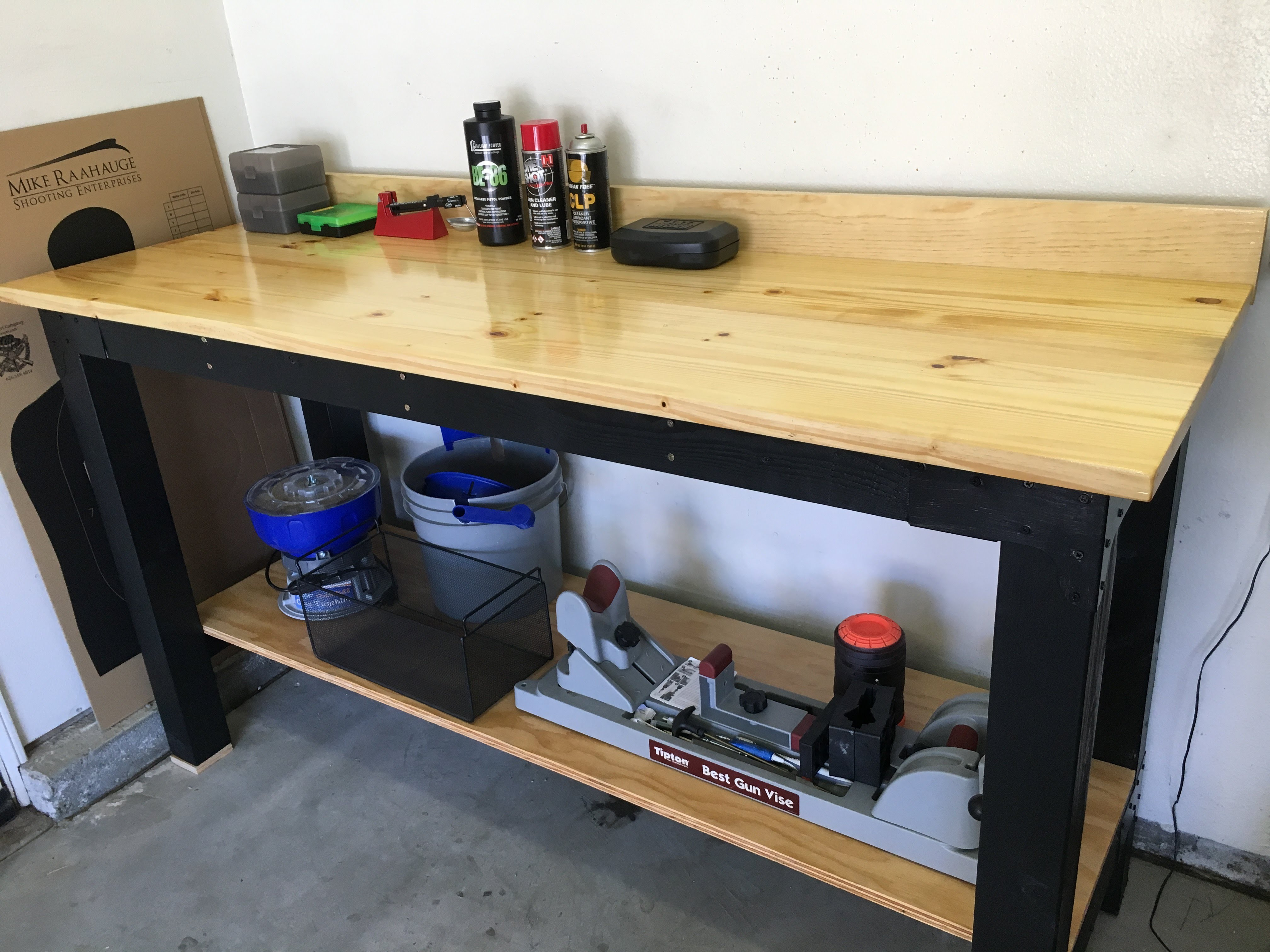 Reloading Press Table | Reloading Benches | How to Build Reloading Bench