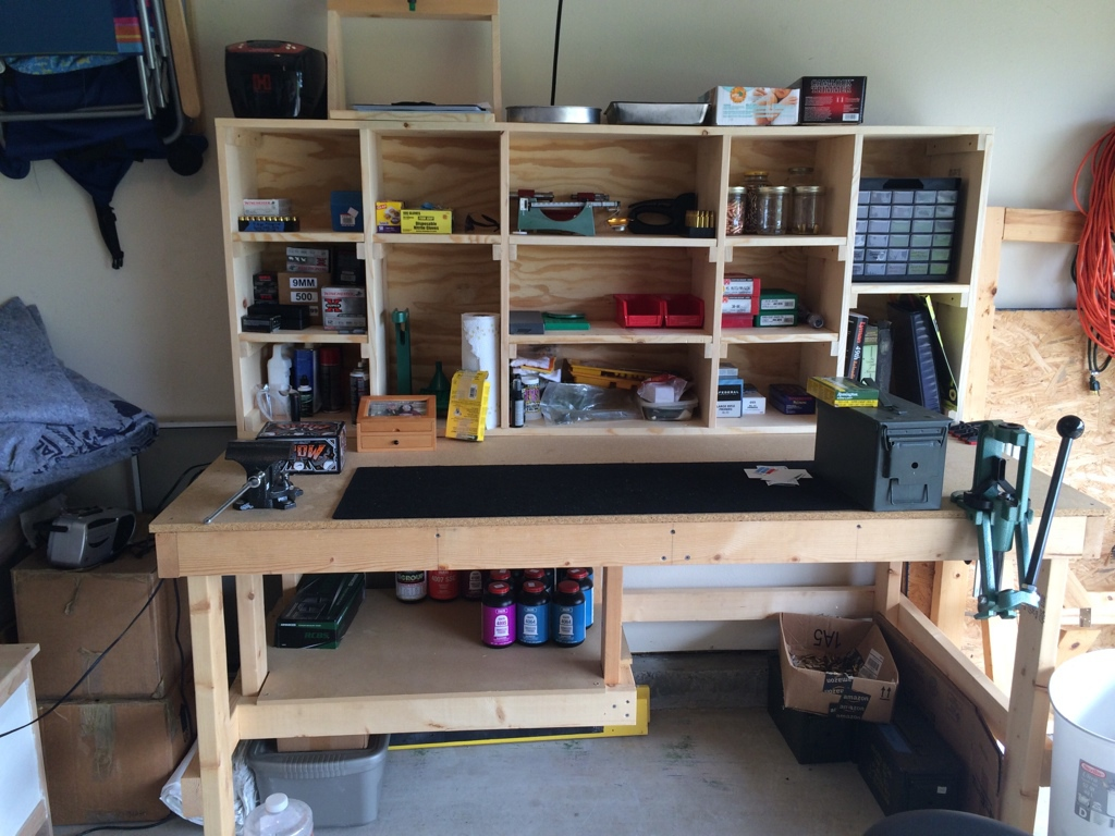 Reloading Benches for Workspace Room Furniture Design: Reloading Tables | Reloading Benches | Stack On Reloading Bench Review