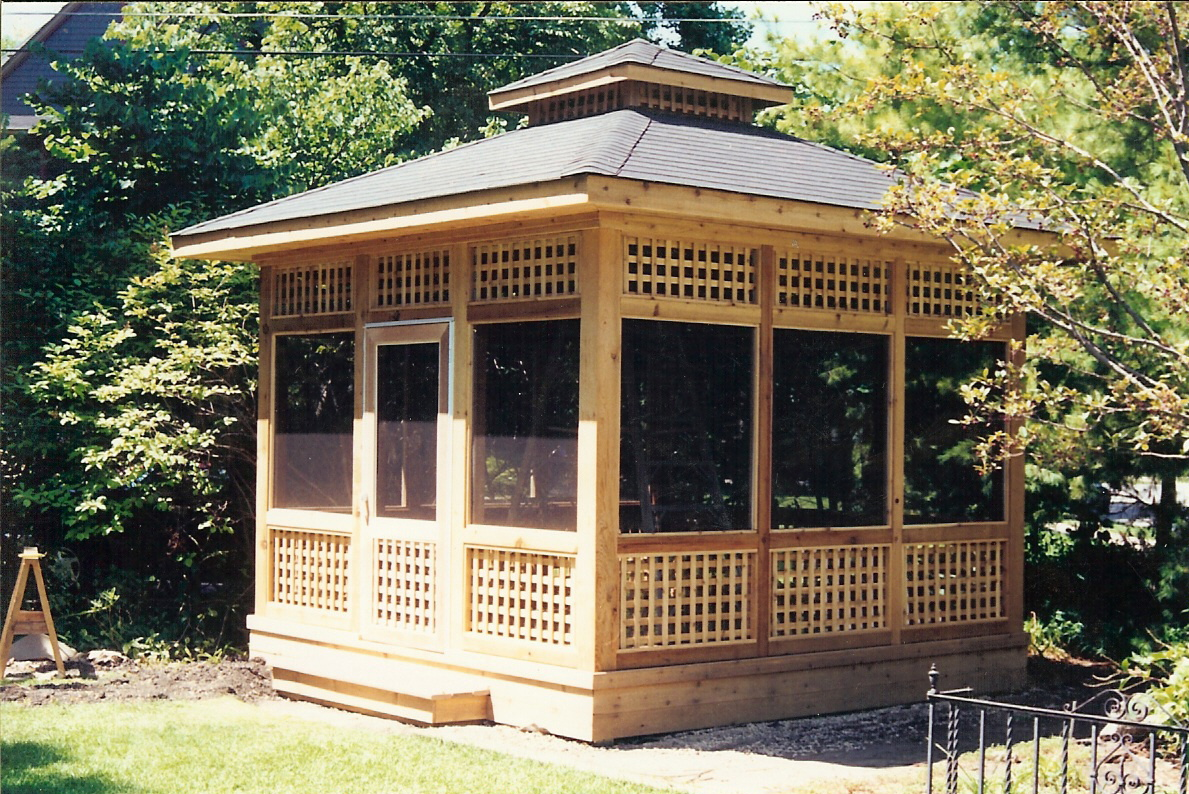 Replacement Gazebo Screen | Gazebo with Screen Sides | Screened Gazebo