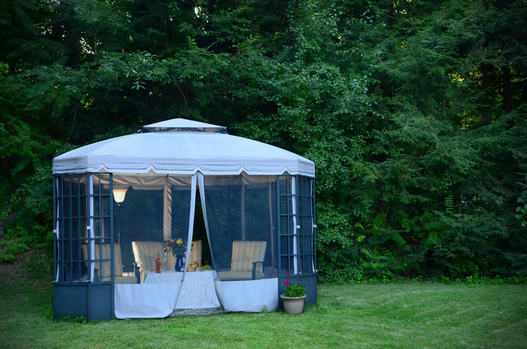 Replacement Screen for Gazebo | Screened in Gazebo Kits | Screened Gazebo