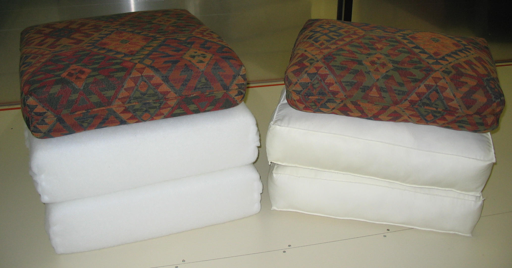 Restuff Cushions | Fix A Sagging Couch | Restuffing Couch Cushions