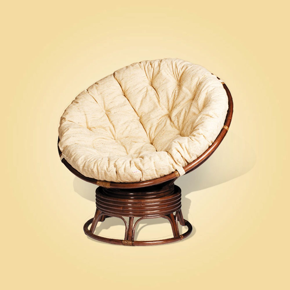 Rocker Cushions Replacement | Papasan Rocker Chair Cushion | Rattan Swivel Rocker