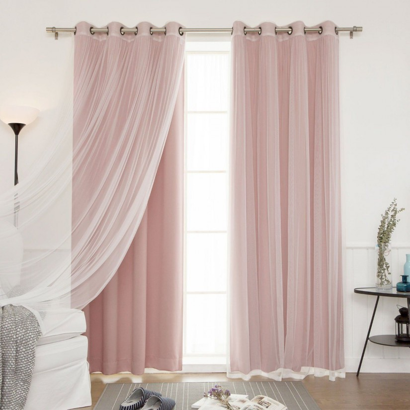 Room Darkening Curtains Kids | Ruffle Blackout Curtains | Ruffled Curtain Panel