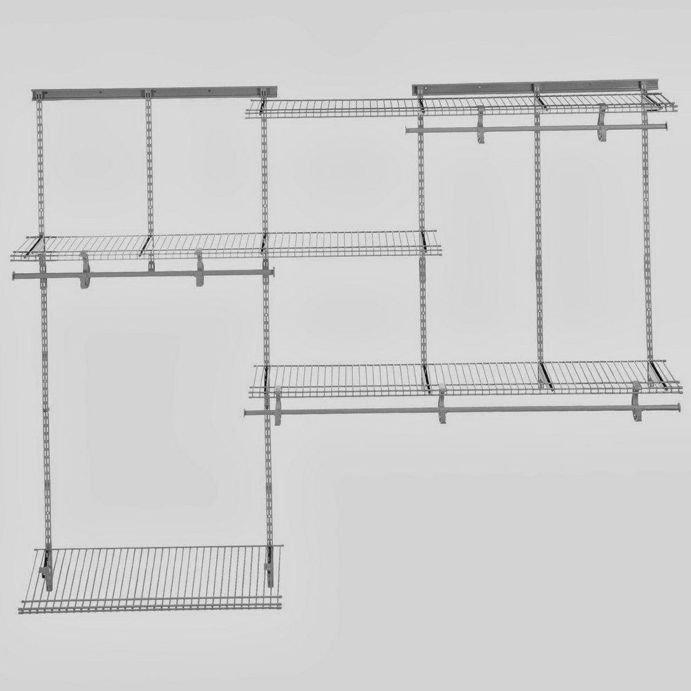Rubbermaid Wire Shelving Lowes | Lowes Wire Shelving | Shelf Dividers Lowes