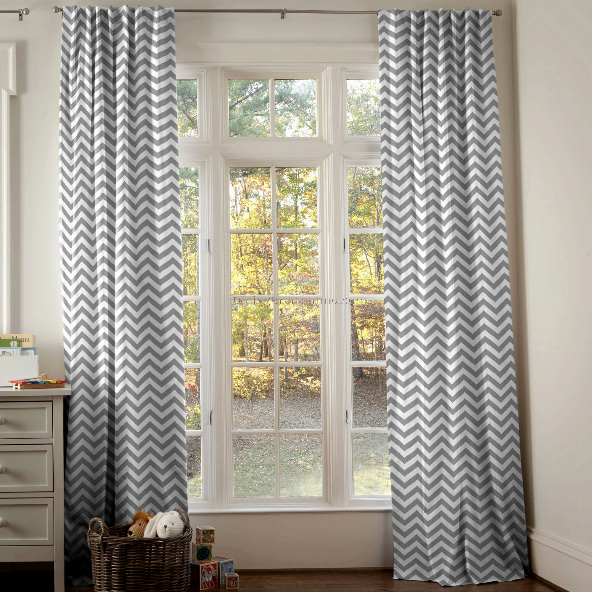 Ruffle Blackout Curtains | Blackout Curtains for Girls Room | Turquoise Polka Dot Curtains