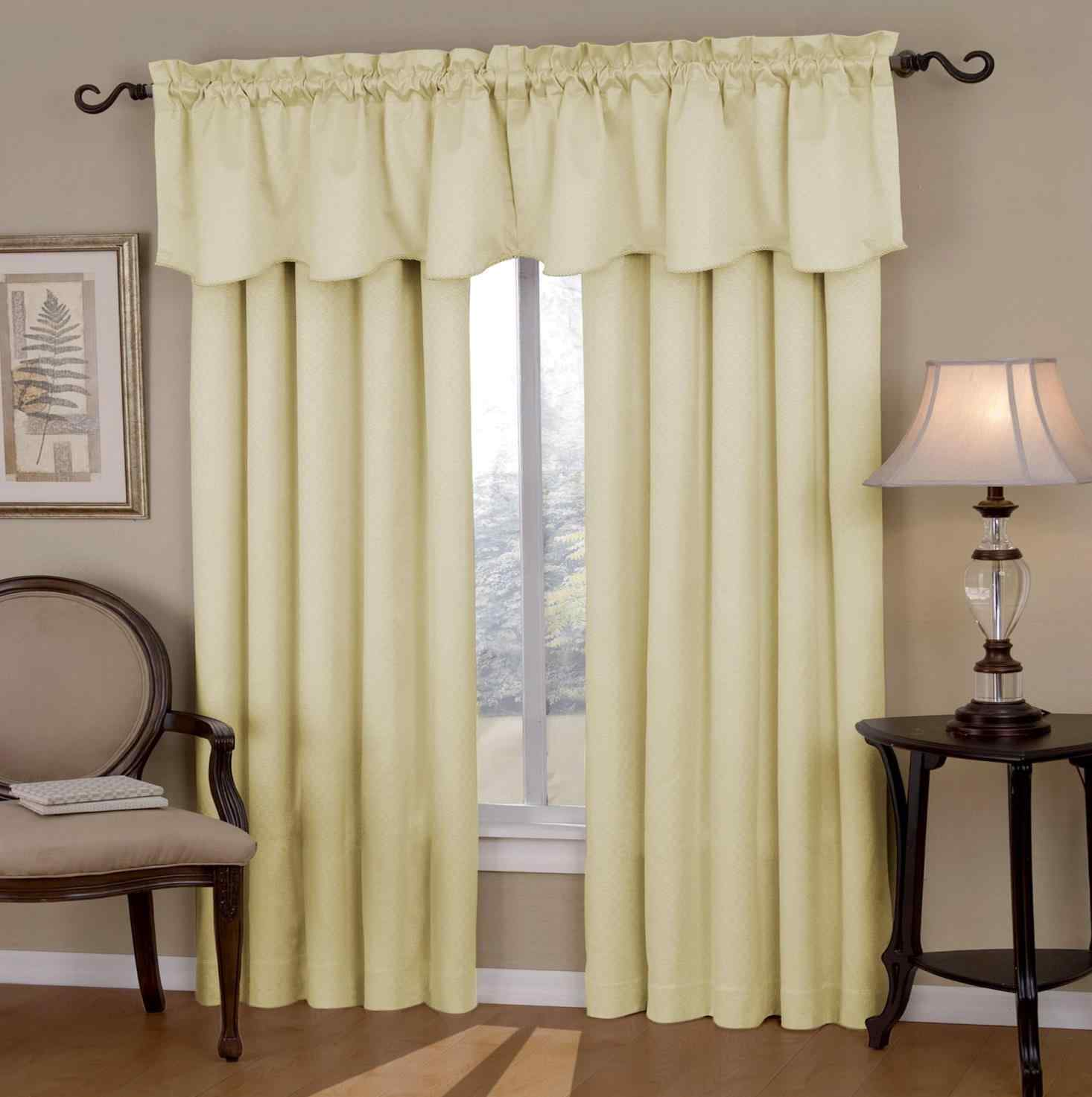 Ruffle Curtains Walmart | Ruffle Blackout Curtains | Cream Ruffle Curtains
