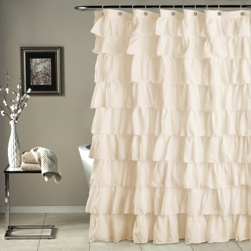 Ruffle Panel Curtains | Ruffle Blackout Curtains | Sheer Ruffled Curtains
