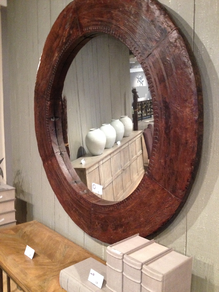 Rustic Floor Length Mirror | Reclaimed Wood Framed Mirror | Reclaimed Wood Mirror