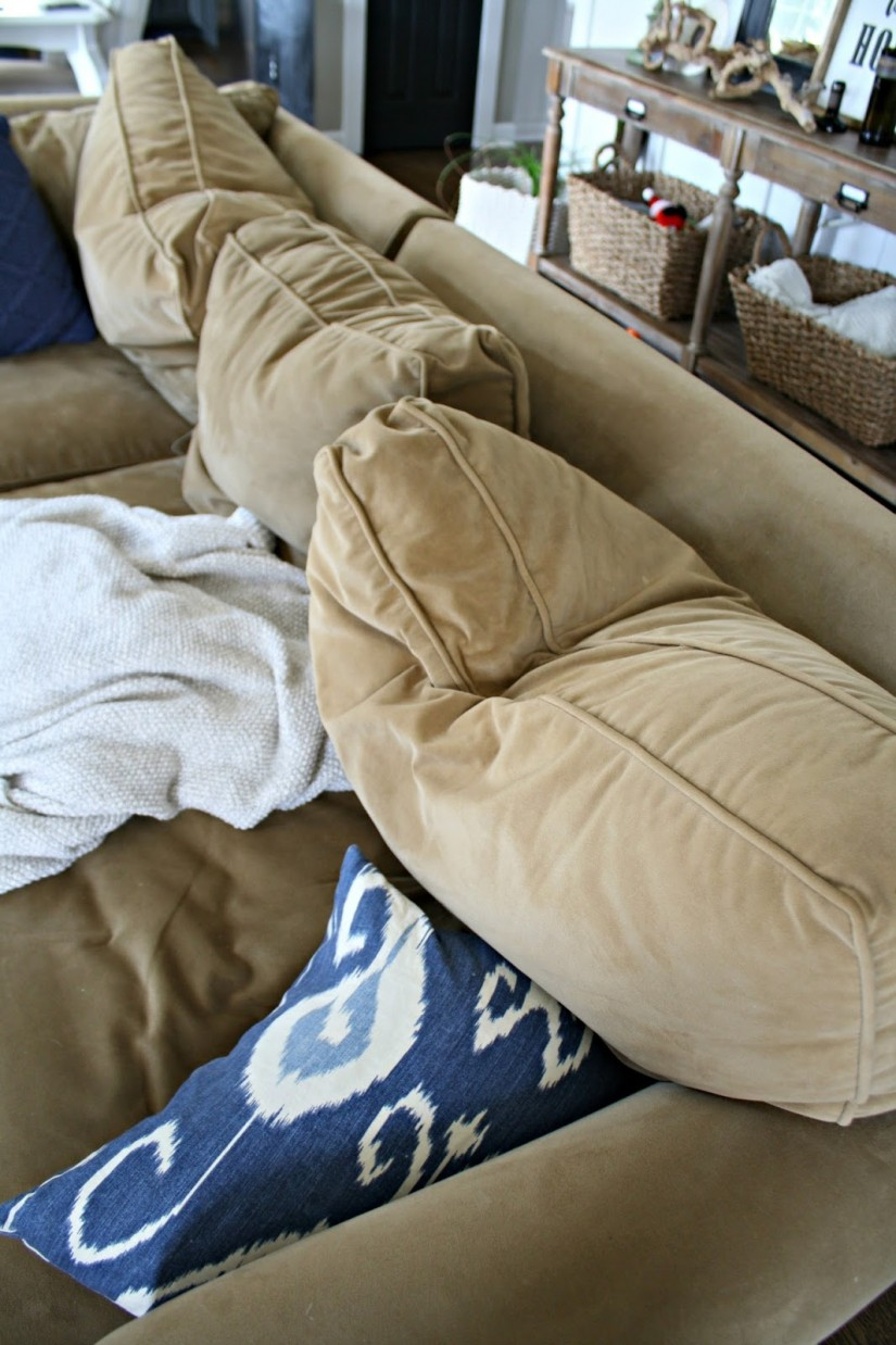 Sagging Couch Cushions | Restuffing Couch Cushions | How To Revive Couch Cushions