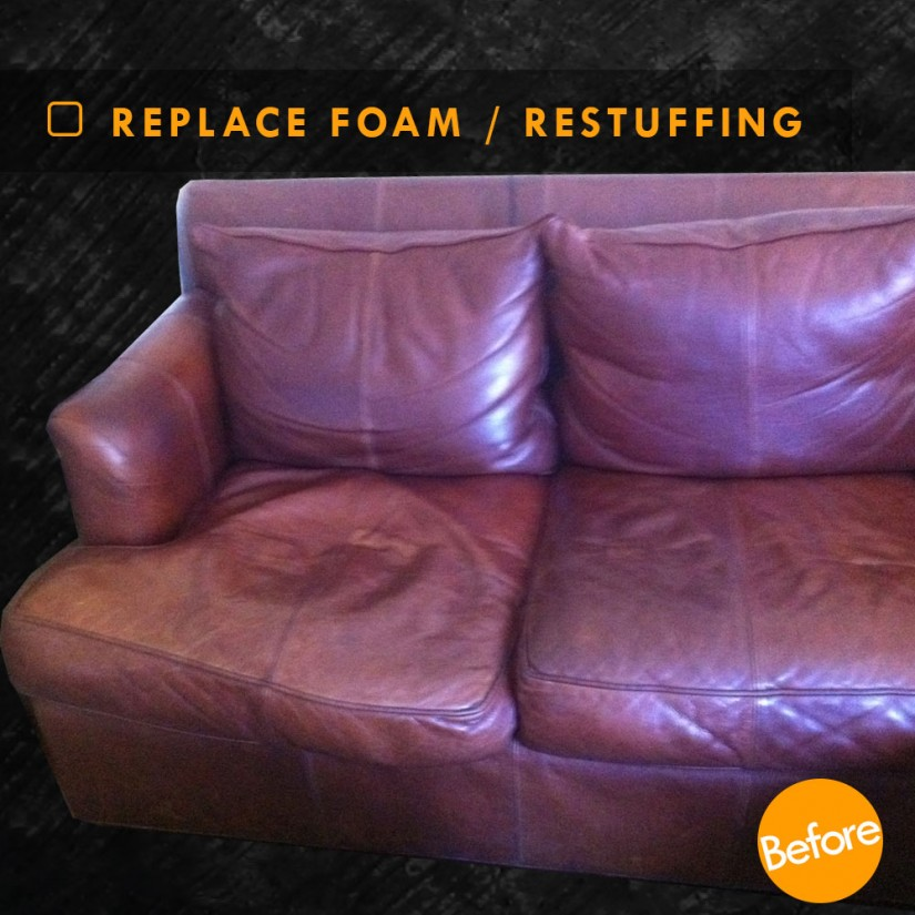 Saggy Couch | Stuffing For Couch Pillows | Restuffing Couch Cushions
