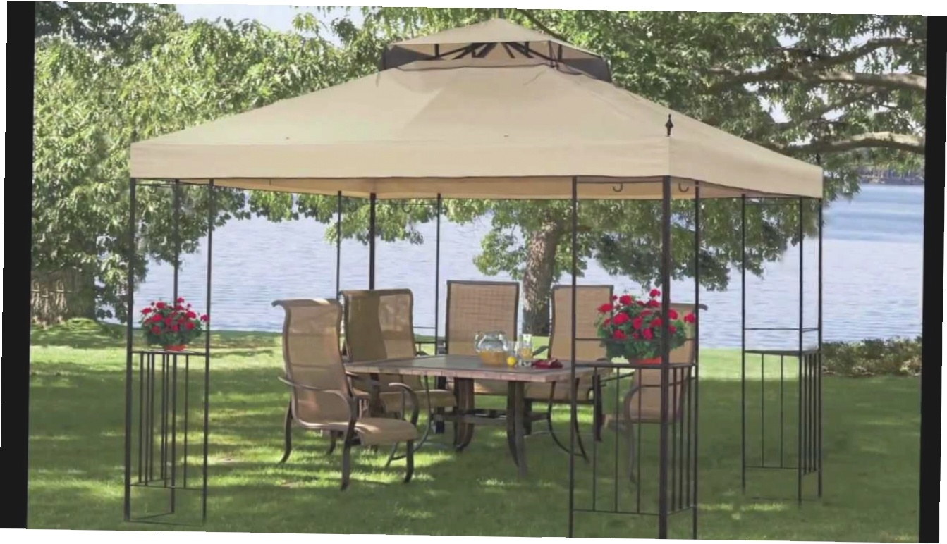 Screen Gazebo Home Depot | Screened Gazebo | 12 X 12 Screened Gazebo
